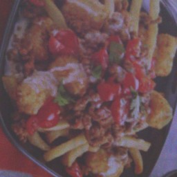 loaded tatar tots & fries