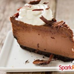 Low Carb Chocolate Cheesecake