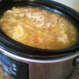 Low-carb, Gluten-Free Chicken Soup