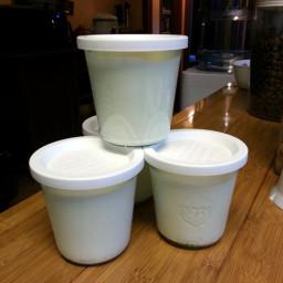 Low-Carb Lemon Yogurt
