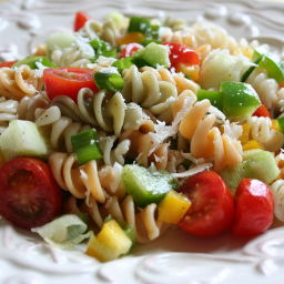 Low Cholesterol Supreme Pasta Salad