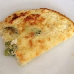 Low-fat Crustless quiche