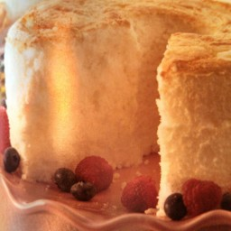 Low-Fat Easter Angel Food Cake