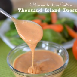 Low Sodium Thousand Island Dressing