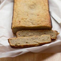 Low Sugar Coconut Flour Banana Bread