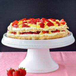Low Sugar Tropical Shortcake