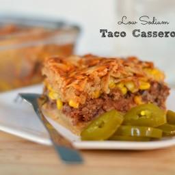 Lower Sodium Taco Casserole