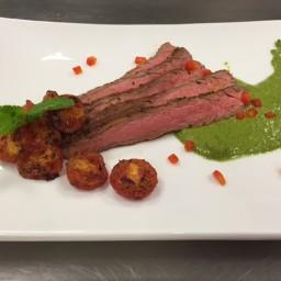 Low Sodium Chimichurri Flank Steak