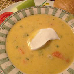Lynn's cheese soup