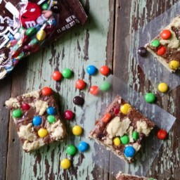 M and M Shortbread Cookies