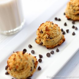 Macadamia Nut Coconut Cookies