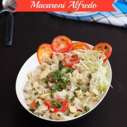 Macaroni Alfredo Recipe