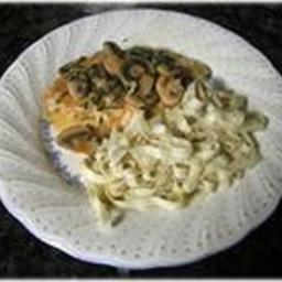Main - Chicken with Wine and Mushrooms