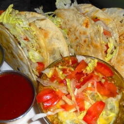 Main - Tilapia Grilled Then Fried Fish Tacos
