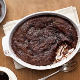Malted Chocolate Pudding Cake