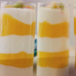 Mango and Yogurt Parfait