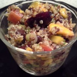 Mango Quinoa Vegetable & Black Bean Salad