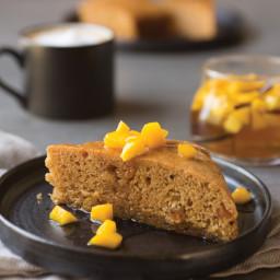 Mango Spice Cake with Mango Compote