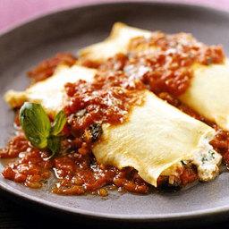 Vegetarian Manicotti