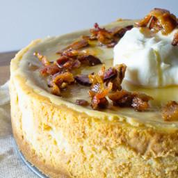 Maple Bacon Cheesecake