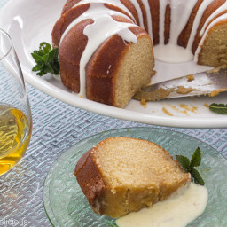 Maple Glazed Rum Cake