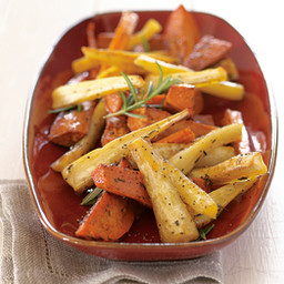 Maple-Roasted Root Vegetables with Sherry Vinegar