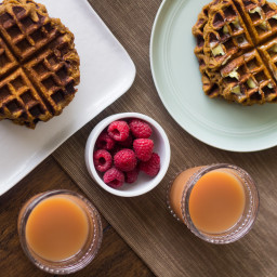 Maple Sugar Waffles (Paleo and AIP-friendly!)