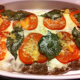 Margarita Meat-za Pizza