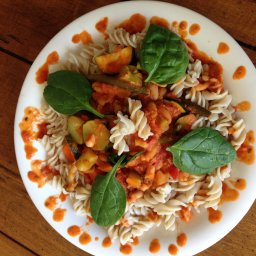 Marinara Primavera with Cannellini Beans