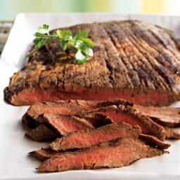Marinated Flank Steaks