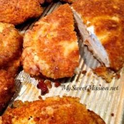 Marinated Crispy Panko Chicken Breasts