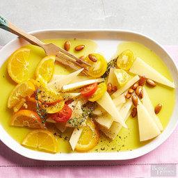 Marinated Manchego & Oranges