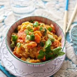 Spahetti Squash Fried Rice