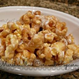 Marshmallow Caramel Popcorn
