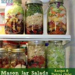 Mason Jar Pasta Salad Recipe