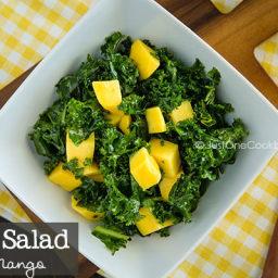 Massaged Kale Salad with Mango