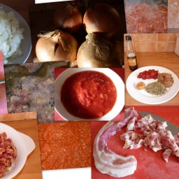 Matt's home made sausage casserole cook in sauce to use w RecipeID # 372081
