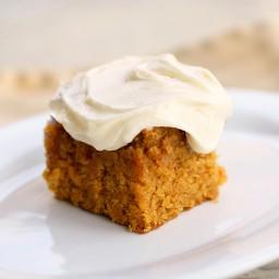 Mayren's Super Moist Pumpkin Cake