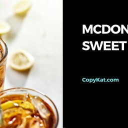 McDonalds Sweet Tea