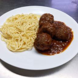 Meat balls (albondigas) Carmenza´s style