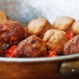 Meatballs with a White Wine Sauce