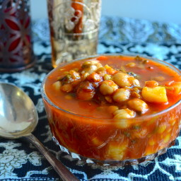Meatless Monday - Moroccan Style Vegetable Soup (Harira)