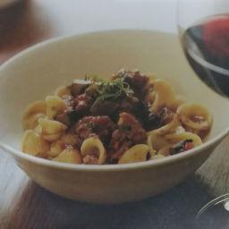 Meatless Sausage Mushroom Ragu