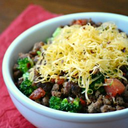 Medifast Lean and Green Recipe: Broccoli Taco Bowl
