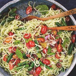 Mediterranean Rice Noodles