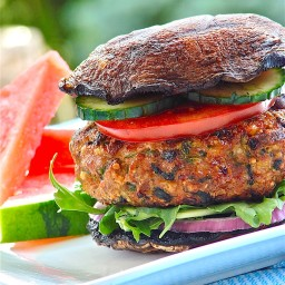 Mediterranean Turkey Burgers - Janet and Greta