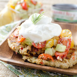 Mediterranean Tuna and Quinoa Cakes