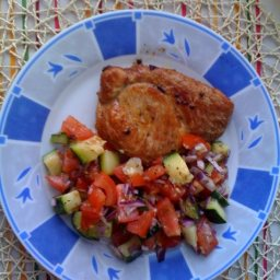 Melitzanosalato (Greek Eggplant Salad)