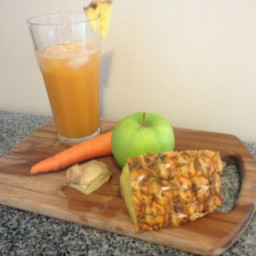 Mel's Smooth Carrot Pineapple Juice