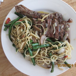 Steak and Pasta